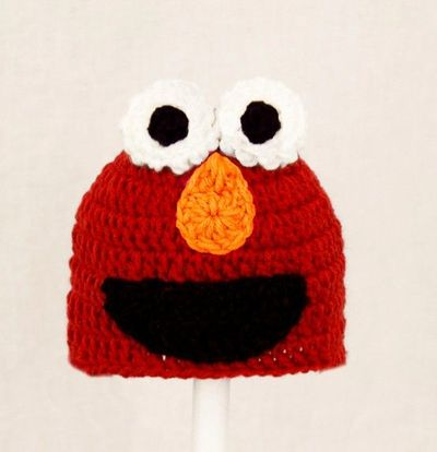 Crochet Elmo Hat How To Crochet
