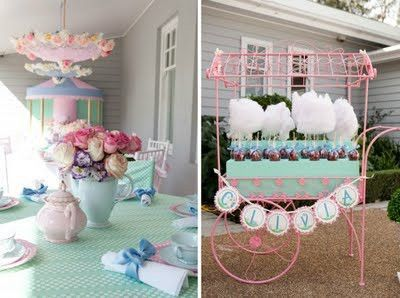Cotton Candy Display Wedding Ideas Juxtapost