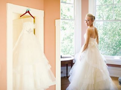 This Anne Barge wedding dress would look lovely on you, Katy!