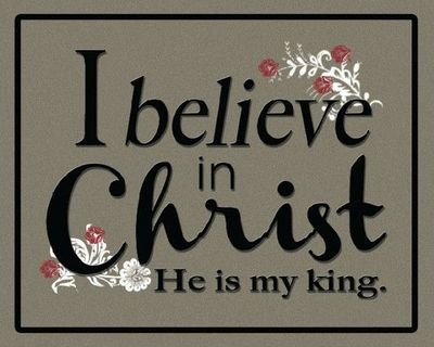 I believe in Christ. Easter printable. Free LDS Printables.
