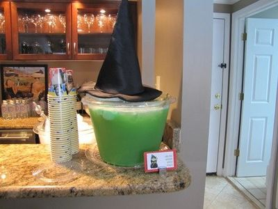 Wicked Witch punch! She's melted! bahahahah!