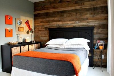 Love This Pallet Wall For A Boy S Room Instantly Mascul