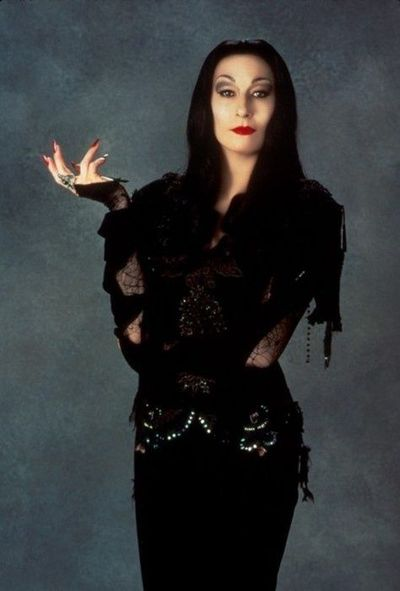 Anjelica Huston (Morticia Addams): The Addams Family