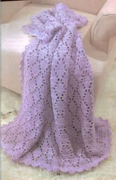 New Crochet Baby Afghan Patterns : Baby Afghan free crochet pattern / crochet ideas and tips ...