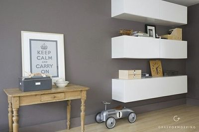Living Room Solution With 6 Ikea Faktum Akurum For The