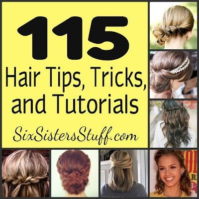 and Tutorials- never wonder how to style your hair again! Amazing step