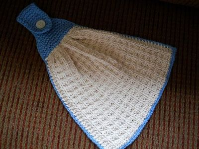 free hanging kitchen towel knitting pattern - I'm going to make a lot