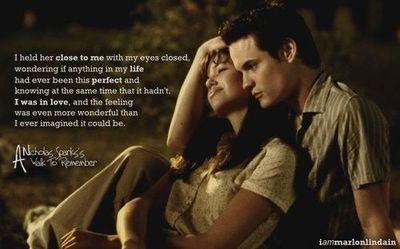 nicholas sparks a walk to remember essay The novels of nicholas sparks are able to provide insight a walk to remember and the last this essay discusses that the same symmetrical relationships.
