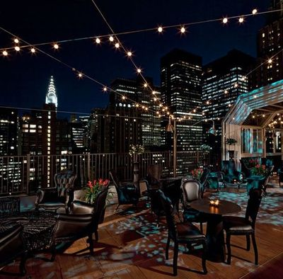 Upstairs T The Kimberly Rooftop Lounge New York Looks