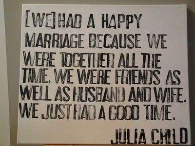 Julia Child speaking about her late husband Paul Child who passed 10 years before Julia did.