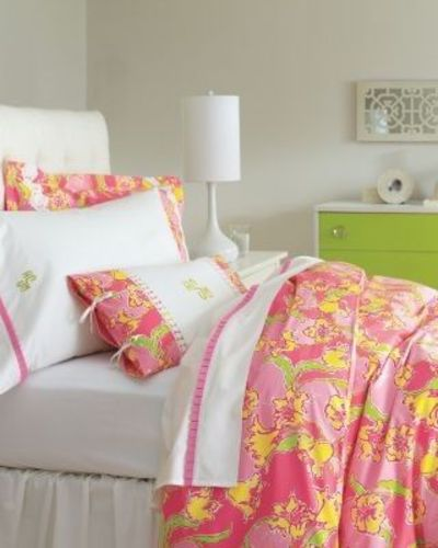 lilly pulitzer sister florals comforter cover collection