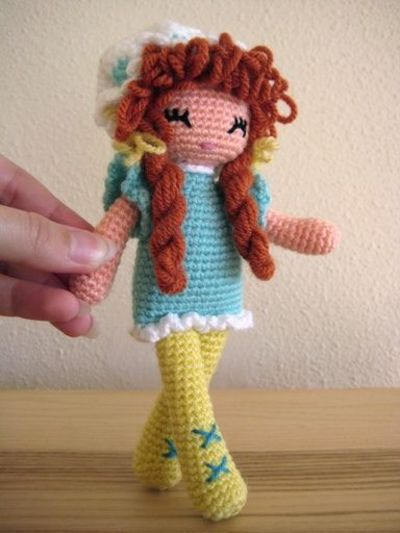 Crochet Doll Pattern Cute : cute amigurumi doll / crochet ideas and tips - Juxtapost