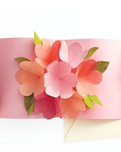 Pop Up Flower Card Tutorial MS