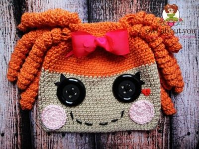 LaLaLoopsy (orange) Hat
