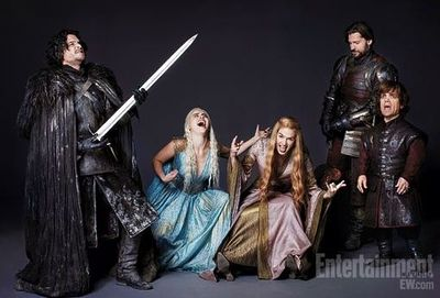 Brace yourself - air guitar practice is coming to Game of Thrones Season 2...