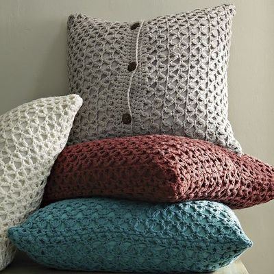 Crochet cover pillow - Learn how to crochet