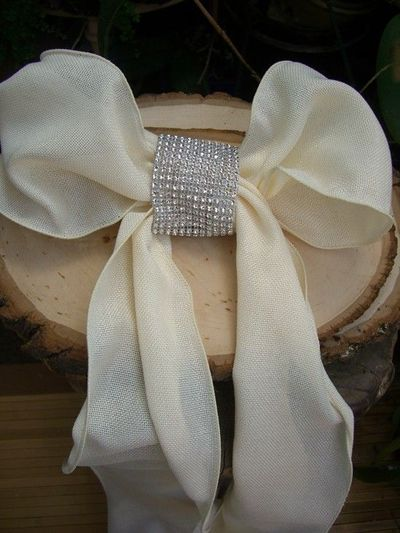 Wedding Chair Sashes Ideas Chair Sash Ideas