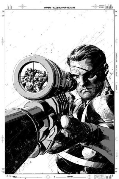 Nick Fury by Mike Deodato Jr.