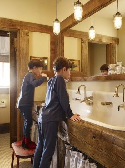Modern Farmhouse Bathroom Bath Ideas Juxtapost