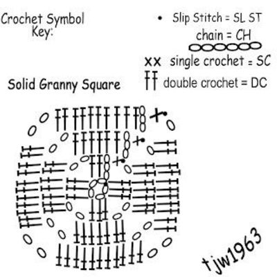 Crochet Geek Free Instructions And Patterns Solid Granny