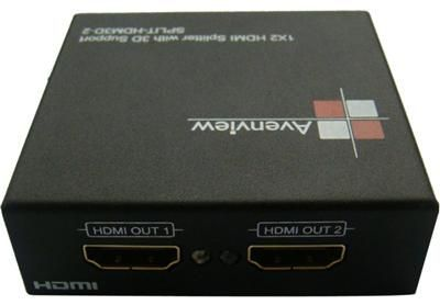 1x2 HDMI Splitter with 3D Support