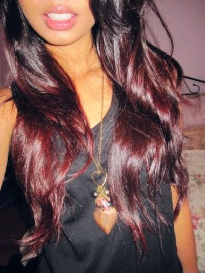 Short Red Ombre Hair | Cool Hairstyles