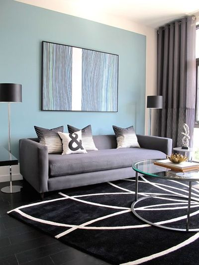 Blue and Grey Living Room 400 x 533