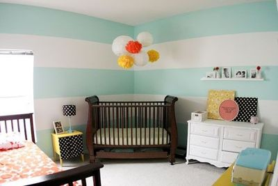 room shared by boy and girl - gender neutral.