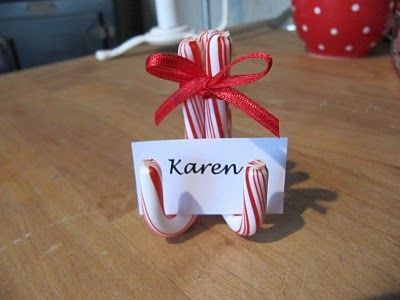 simple name tags for your christmas table or use on a buffet christmas xmas ideas juxtapost