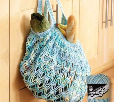 Lily Sugar?N Cream? Crochet Market Bag / crochet ideas and tips ...