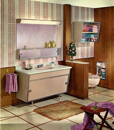 1960s bathroom bath ideas juxtapost for 1960s bathroom design