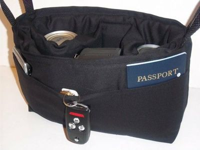 Camera Bag insert DSLR for your purse, padded slr carrier