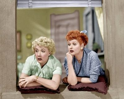 Vivian Vance And Lucille Ball In 8216 I Love Lucy 8217