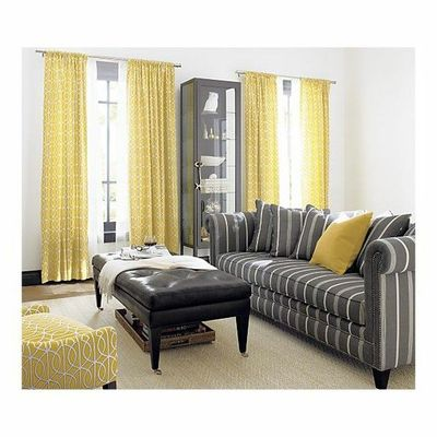 I want these curtains in my living room. Love.