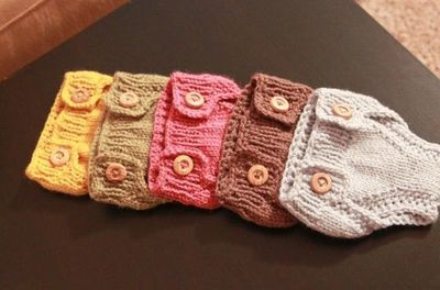 Bleu Arts: Knit Diaper Cover pattern