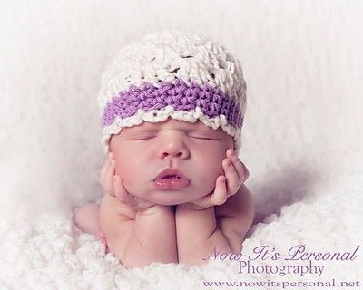 Ravelry: Shell stitch baby hat pattern by Anna Ayling