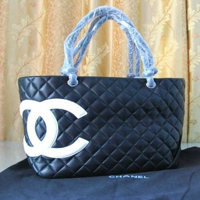 Chanel Diaper Bags 9005 Black And White