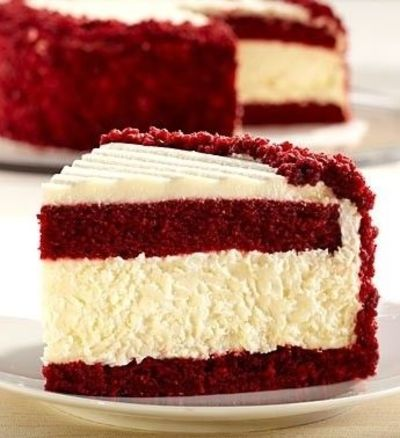 #red velvet #cheesecake