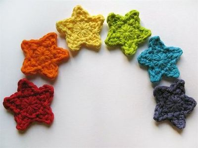 Crochet Star Applique / inspiring quotes and sayings - Juxtapost