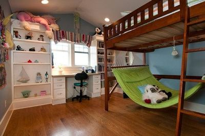 Bunk bed hammock, oh that is just awesome! / kids rooms - Juxtapost