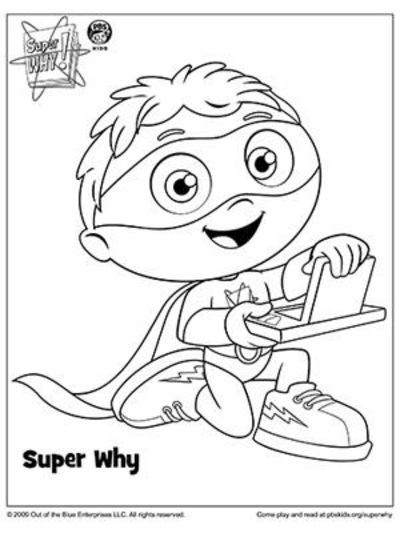 Quot Super Why With The Power To Read Quot More Super Why
