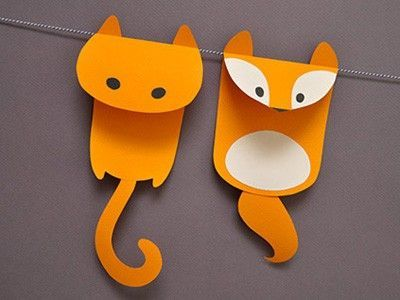 Paper Animal Garland Papercraft Juxtapost