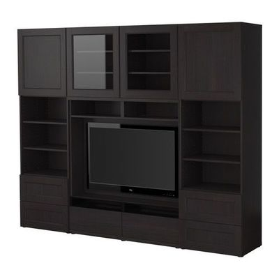 Ikea BESTÅ TV Storage Combination | Modern Interior Decorating Ideas