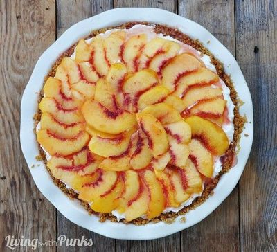 Peaches 'n Cream Pie. It's like eating a cloud with peaches on top :)