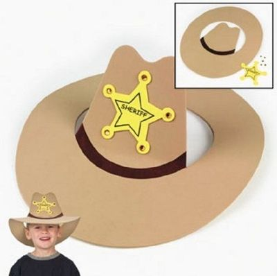 Foam Cowboy Hat Craft Preschool Items Juxtapost