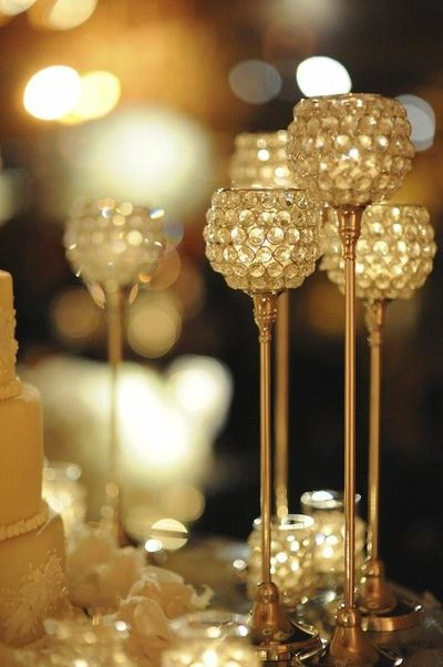 Easy To Diy With Dollar Store Candle Holders And Clear Marbl Wedding Ideas Juxtapost