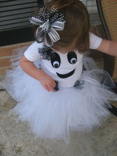 Toddler Girl Ghost Costume---SO Cute! / Halloween Time
