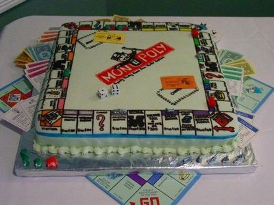A cake for the board game fanatic in your life.