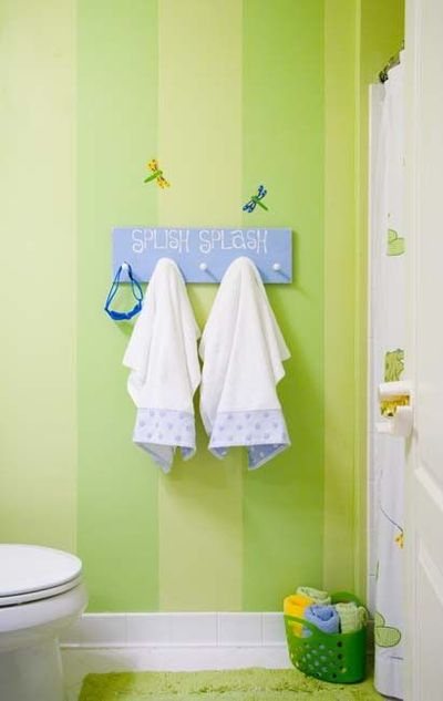 Cute kids bathroom