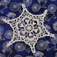 Ravelry: Century Snowflake pattern by Deborah Atkinson She has many free patterns. Very pretty.